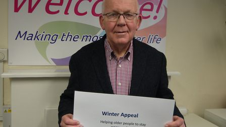William Armstrong is calling for support. Picture: Age UK
