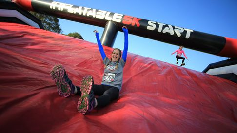 Inflatable 5k Credit: UK Running Events