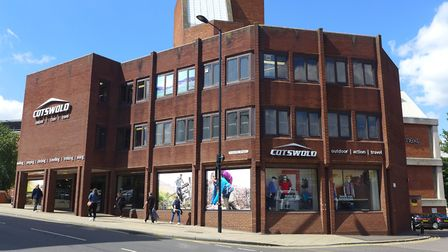 Cotswold Outdoor in Norwich. Picture: Newman Associates