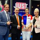 Julie Forrest is the Just 2019 Ladies World Indoor Singles champion. Picture: Nick Lane