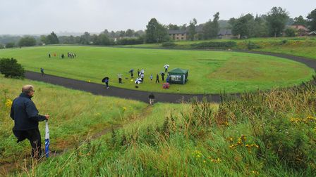 The Norwich & Norfolk AC would meet and train at the Henderson track in Bowthorpe. Picture: Archant
