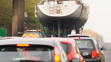 Police will escort an abnormal load through Norfolk. File photo. Picture: Denise Bradley