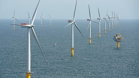 The Sheringham Shoal Offshore Wind Farm. Picture: Alan O'Neill