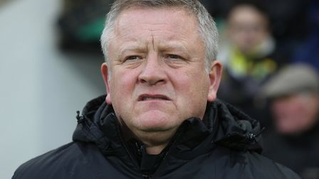 Sheffield United manager Chris Wilder Picture by Paul Chesterton/Focus Images