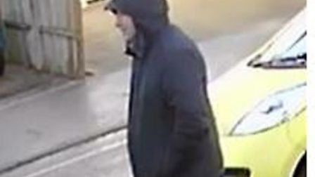Police are appealing for this man to come forward as he may be a witness to a distraction burglary i