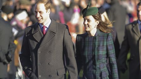 Prince William and the Duchess of Cambridge. Picture: Matthew Usher.