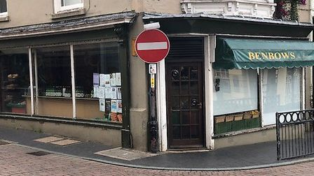 Benbows is one of the shops that has been selected for the 'Fakenham Facelift' pilot scheme. Picture