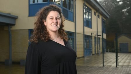 Selene Sawyer., chief executive of the Inclusive Schools Trust, which runs Norwich schools including