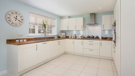 A kitchen in Bovis Homes' Oxford-style home. Picture: Lee Pilkington/Bovis Homes