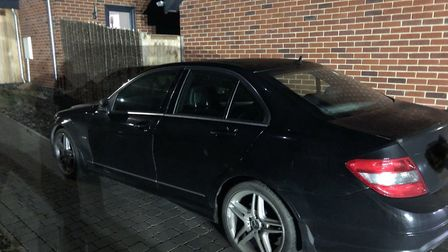 Norfolk police seized this car after the driver failed to stop during a speed crackdown. Pic: Norfol