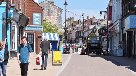 Lowestoft High Street.Picture: Nick Butcher