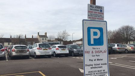 More drivers are fined at Clapham Road Car Park than any other in Waveney. Photo: James Carr.