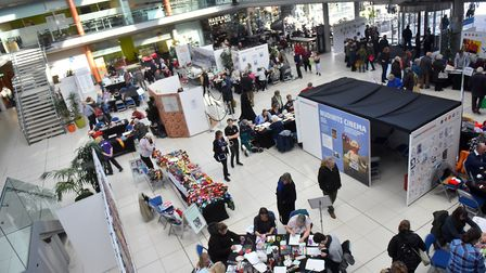 Norfolk Makers Festival, The Forum, Norwich. PICTURE: Jamie Honeywood