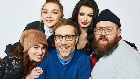Stephen Merchant, writer and director of Fighting With My Family, will be on The Graham Norton Show