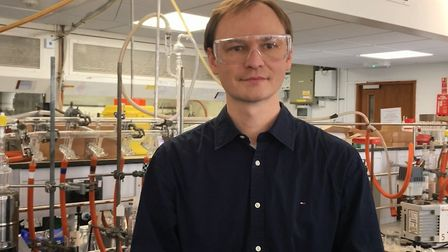 Dr Alexander S Romanov (Royal Society University Research Fellow). Picture: Archant