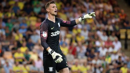 Declan Rudd will make his 100th appearance for Preston North End against City on Wednesday night. Pi