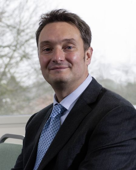 Jonathan Taylor, chief executive of the Sapientia Education Trust. Picture: Archant
