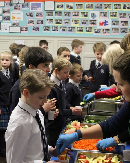 All pupils at Langley Preparatory School at Taverham Hall have been learning about being healthy 'in
