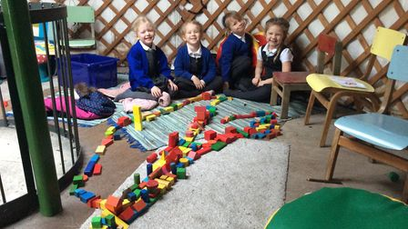 Mulbarton Primary School's Reception children celebrated the Chinese New Year by tasting Chinese foo