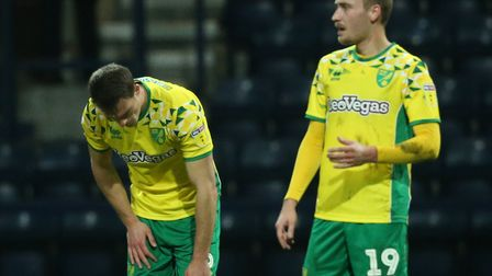 Norwich City had a night to forget at Deepdale Picture: Paul Chesterton/Focus Images Ltd