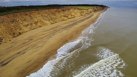 On August 23, Mr Ford captured this stunning images of Covehiithe Cliffs. Picture: Contributed by Br