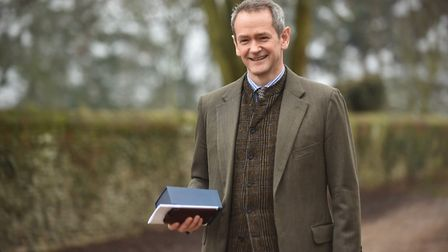 The Queen visits the WI at West Newton.Guest speaker at the event is Alexander Armstrong.Byline: Son