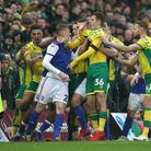 It was certainly a feisty affair as Norwich City beat Ipswich Town at Carrow Road, in the 107th East
