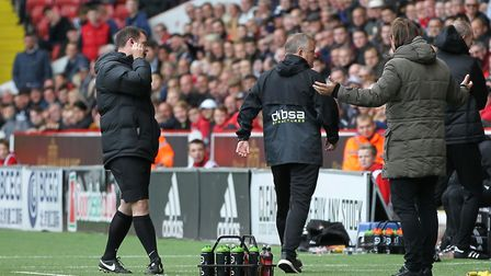 It was fiery between Chris Wilder and Daniel Farke when Sheffield United and Norwich City clashed at