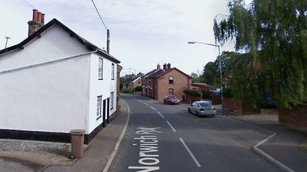 Crews from Harleston and Diss were sent to Norwich Road in the South Norfolk village shortly after 4