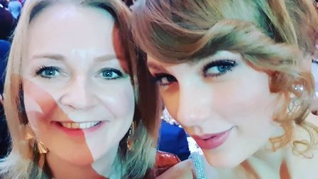 South West Norfolk MP Liz Truss met pop star Taylor Swift at the after party for the Baftas. Picture