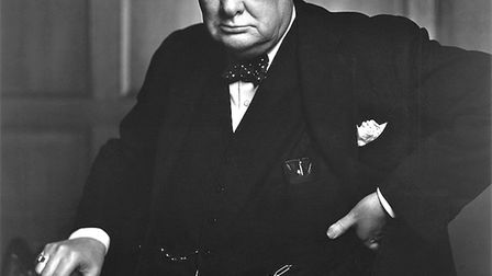 Sir Winston Churchill was known to have a sharp wit. PIcture: WIKICOMMONS/YOUUF KARCH