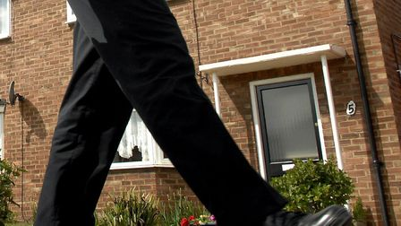 People living in Sprowston are being advised to keep an eye out for a cold caller carrying a large h