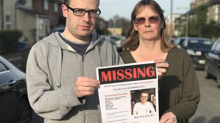 Missing UEA student Nick Sadler's mother Tracy and brother Oliver have issued a plea for him to get