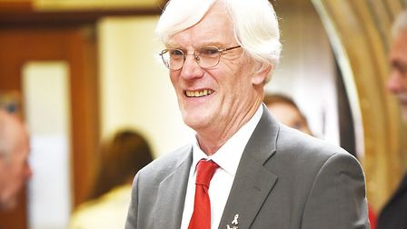 Norwich City Council leader and chairman of the cabinet Alan Waters. Picture: Ian Burt