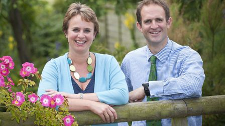 Sally Crawford and Robert Blackham, directors of Cygnet Care, which is set to buy The Dell in Beccle