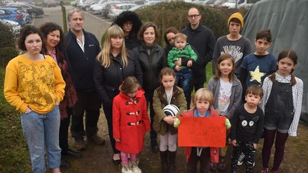 People living in Merton Road fear work on the hospital site could cause subsidence. Picture: DENISE