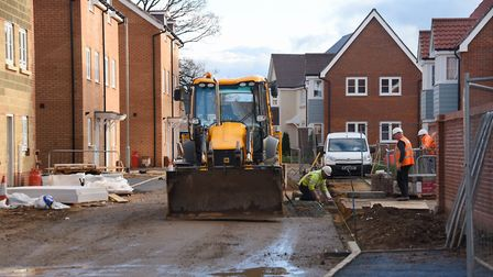 Councillors will today decide whether 600 new homes could be built at Knights Hill Picture: Denise B