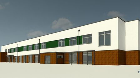 An impression of what the new primary school in Hethersett could look like. Picture: Norse Group