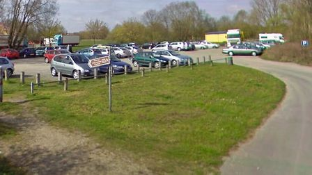 Emergency repairs to a Beccles car park have left an entrance closed and some car spaces unavailable