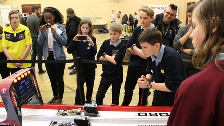 Student teams from Norfolk have made it through to the national final of the F1 in Schools competiti