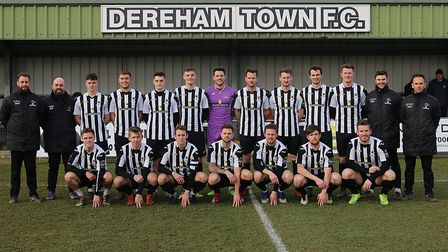 Dereham Town reached the Norfolk Senior Cup final after beating Swaffham Town Picture: Alan Palmer