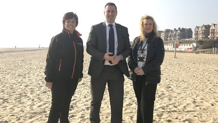 East Coast College will be offering a training course for school and nursery teachers on the beach a