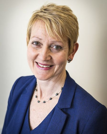 Professor Nancy Fontaine, Norfolk and Norwich University Hospital (NNUH) chief nurse. Picture: David