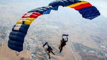 The Silver Stars Army Parachute Display Team will return to headline the Game and Country Fair this