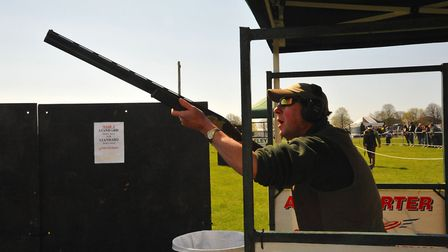 Try a range of country activities such as clay shooting at the Game and Country Fair Picture: Contr