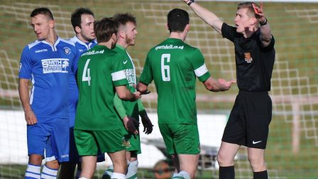 Referee abuse is an ongoing issue in football. Picture by Richard Land/Focus Images Ltd.