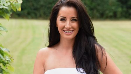 Kerri Parker, looking after her health after having a brain tumour removed, and has won third place