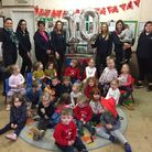A Poringland playgroup is celebrating 10 years of childcare. Photo: Courtesy of Stella Presland