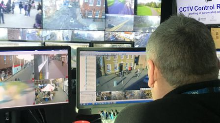 New CCTV cameras will be used around Norwich. Picture: Neil Didsbury