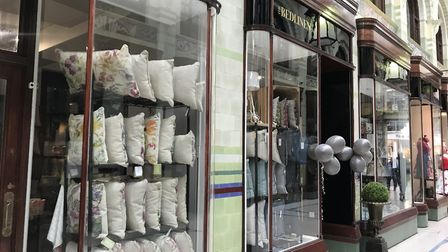 The new Bedlinen Co store in Norwich's Royal Arcade. Picture: Archant